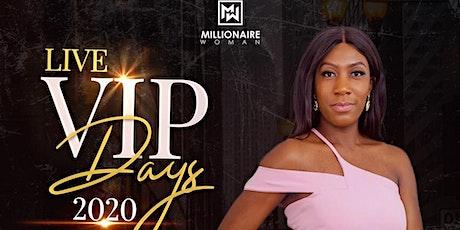 Millionaire Woman VIP Day tickets