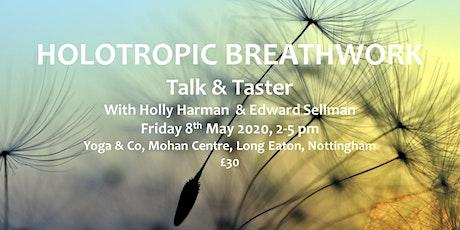Holotropic Breathwork – Introductory Talk & Taster tickets