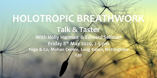 Holotropic Breathwork – Introductory Talk & Taster