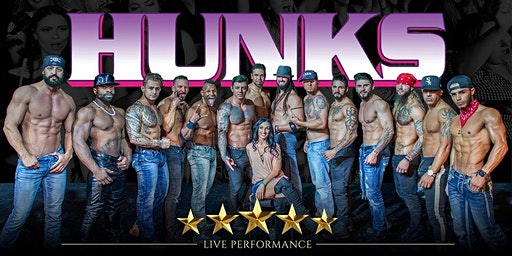 HUNKS The Show at Kickers Country Bar (Augusta, GA)
