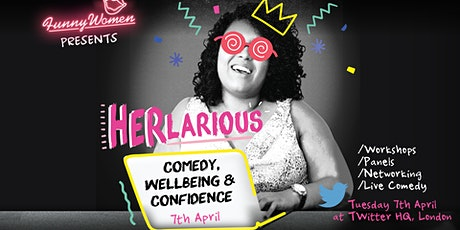 HERlarious - Comedy, Wellbeing and Confidence tickets