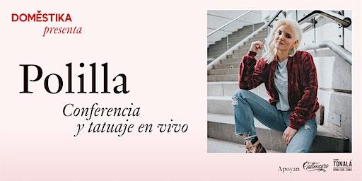 Domestika presenta Polilla. Conferencia y tatuaje en vivo