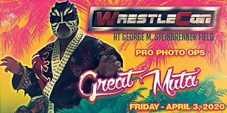 Great Muta Pro Photos at WrestleCon 2020 - Tampa FL tickets