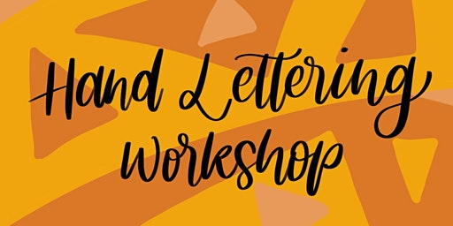 Hand Lettering Workshop - Beginners Welcome! At Good Crowd Shop