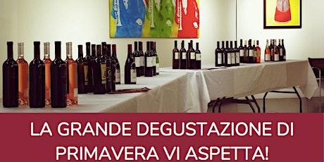 Grande Degustazione di Primavera: 21 Marzo Roma biglietti