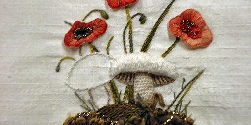 Stumpwork Embroidery With Nicola Hulme