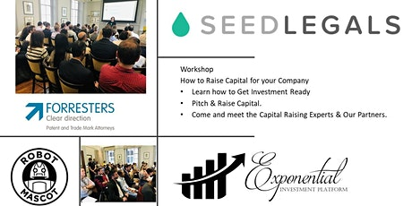 Workshop - How to Raise Capital for Your Company tickets