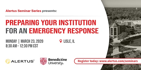 Preparing Your Institution for an Emergency Response tickets