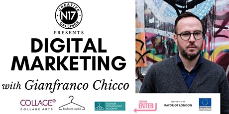 Digital Marketing with Gianfranco Chicco tickets