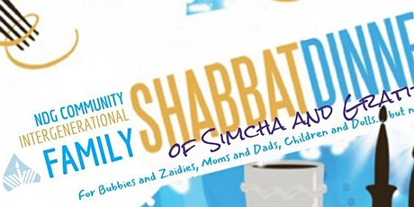 Family Shabbat Dinner of Simcha & Gratitude tickets