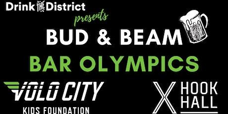 Bud & Beam Bar Olympics at Hook Hall tickets