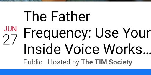 Father Frequency: Use Your Inside Voice