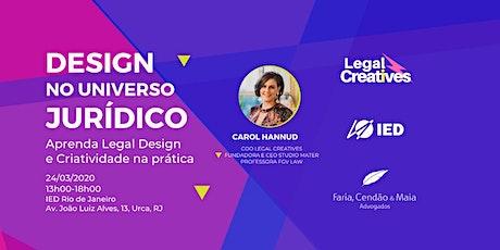 Design no Universo Jurídico ingressos