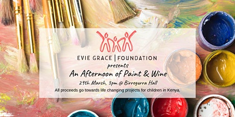 An Afternoon of Paint & Wine tickets