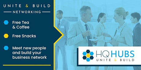 Unite & Build Networking (Drinks / Food Provided) tickets