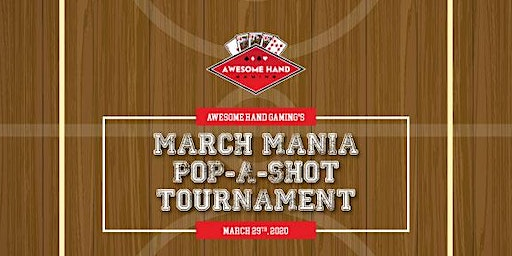 March Mania Pop-A-Shot at Offsides