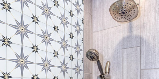 Cement Tile Painting - Happy Hour