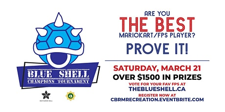 The Blue Shell Champions Tournament (E-Sports) tickets