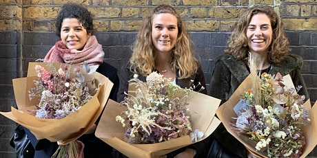 Dried Flower Workshop: How to use and make everlasting, eco friendly blooms tickets