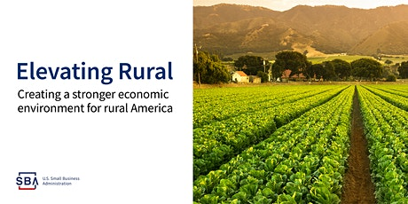 Rural Strong Small Business Event - Webinar tickets