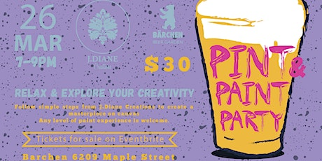 Pint & Paint Party  tickets