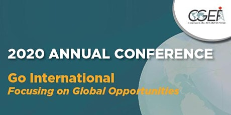 CGEF 2020 Annual Conference tickets