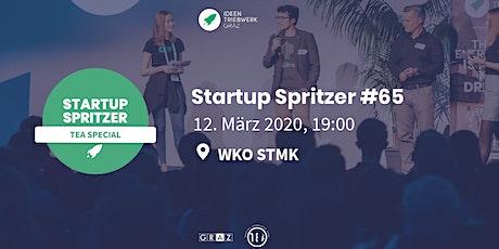Startup Spritzer #65 -  TEA Special tickets