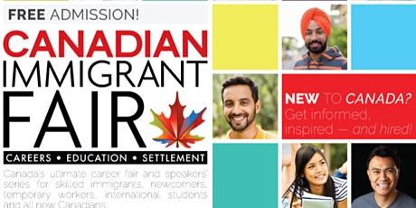 Ottawa Canadian Immigrant Fair tickets