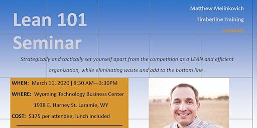 Lean 101 Seminar