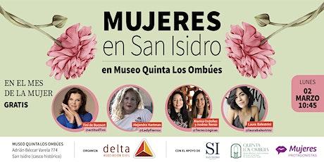 Mujeres en San Isidro entradas