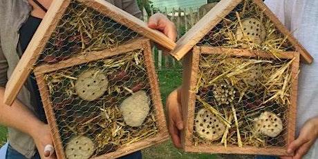 Wir bauen Insektenhotels am Naturhof Witten Tickets