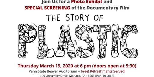 Beaver County Screening of The Story of Plastic