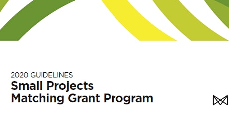 Small Project Matching Grant - Workshop 2020 tickets
