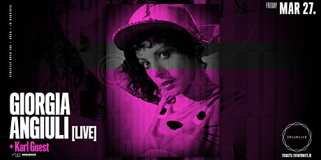 Giorgia Angiuli [Live] at Opium Club tickets