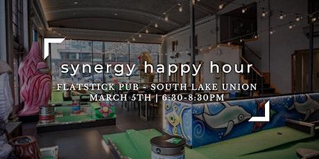 Synergy Happy Hour: Flatstick Pub South Lake Union tickets