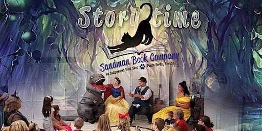 Storytime at Sandman Books Featuring Theatre Kids | Punta Gorda