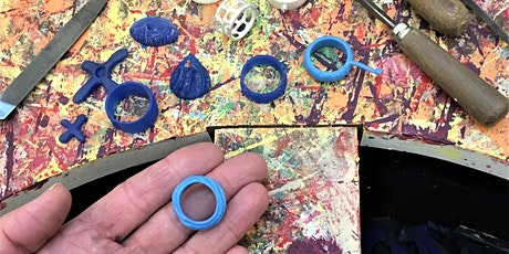 Make your own RING or PENDANT- beginners wax carving workshop tickets