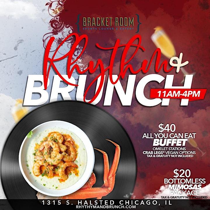 Rhythm Brunch Bracket Room Tickets Sat Aug 15 2020 At 11 00 Am Eventbrite