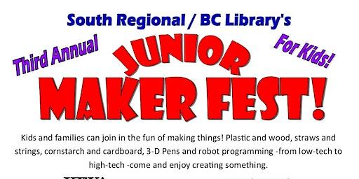 3rd Annual Junior Maker Fest