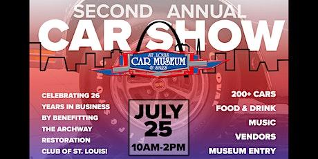 2nd Annual St. Louis Car Museum Car Show tickets