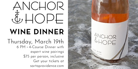 Anchor & Hope Wine Dinner tickets
