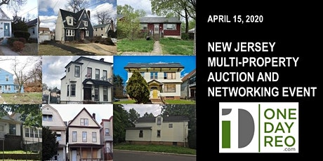 April Central & Northern NJ Real Estate Auction & Networking Event tickets