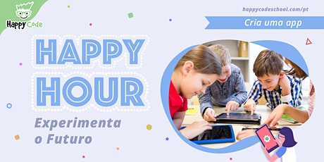 Workshop A Minha 1ª App - 9 / 14 anos (Happy Code Campo Ourique) tickets