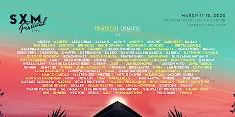 SXM Festival March 11-15, 2020  tickets