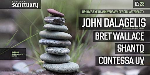 Sunday Sanctuary presents: JOHN DALAGELIS (BERLIN), BRET WALLACE, SHANTO