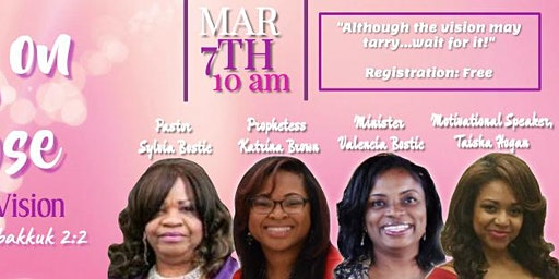 Living on Purpose: Fulfilling the Vision (Women's Seminar)