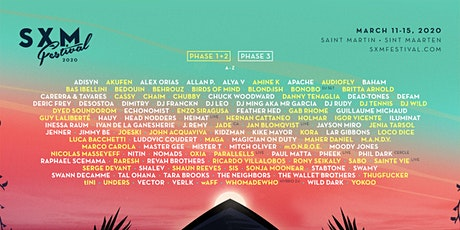 SXM Festival March 11-15, 2020 - CARIBBEAN RESIDENTS ONLY tickets