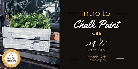 Intro to Annie Sloan Chalk Paint with Urban Relics tickets