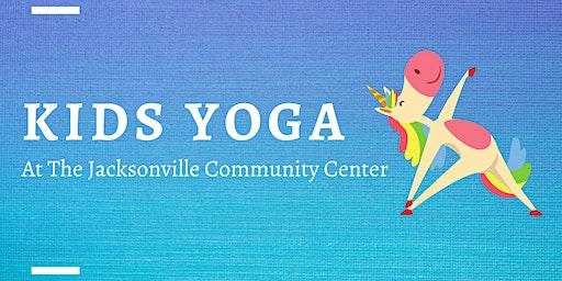 Kids Yoga at the Jacksonville Community Center