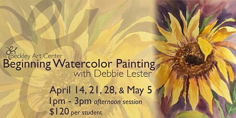 Beginning Watercolor Class - Afternoon tickets